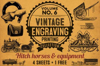 HITCH HORSES AND EQUIPMENT + BONUS