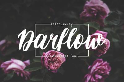 Darflow Handwritten Script
