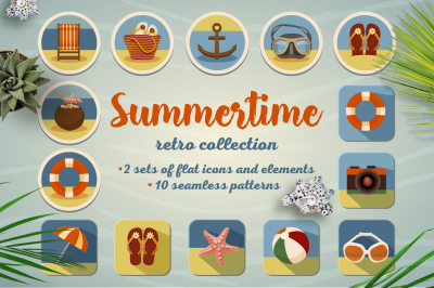 Summertime retro collection