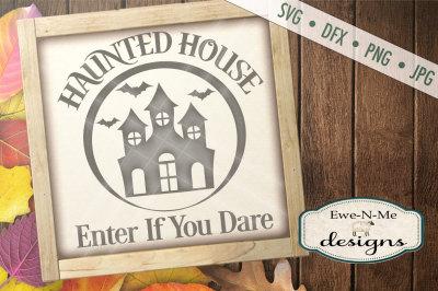 Haunted House Halloween SVG