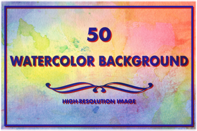 50 Watercolor Backgrounds 08