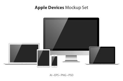 Apple Devices Mockup Set