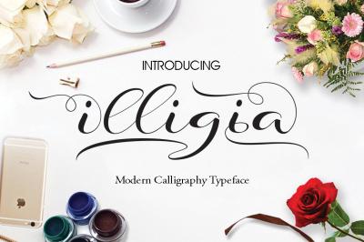 Illigia Script