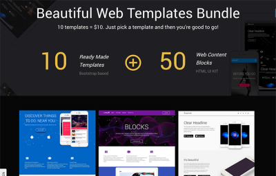 UI KIT and Template Bundle