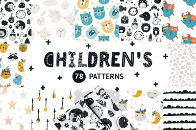 Children's patterns Bundle