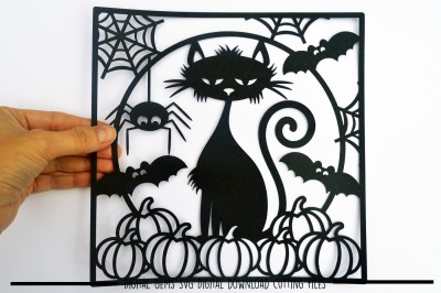 Halloween Paper Cut SVG / DXF / EPS Files