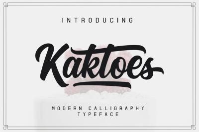 Kaktoes Script