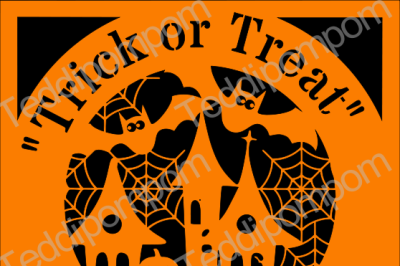 Trick or Treat Halloween SVG