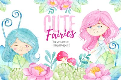 Cute Fairies