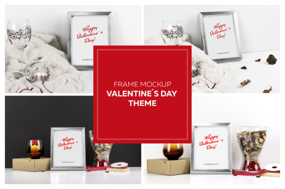 Frame Mockup - Valentine`s Day Theme