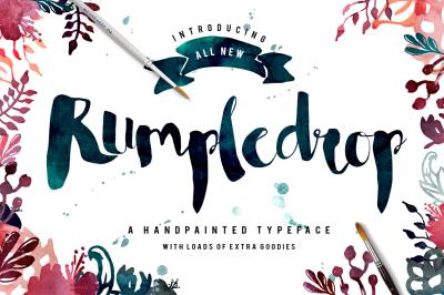 Rumpledrop Typeface Bundle