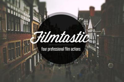 Filmtastic Photoshop Film Actions