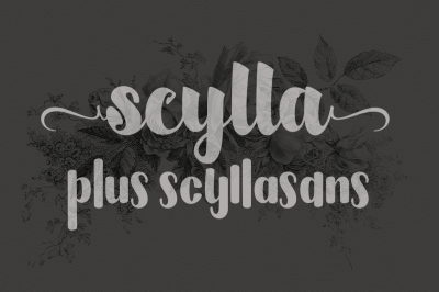 Scylla ( Duo Fonts)