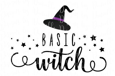 Basic Witch SVG Cutting File