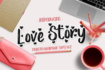 Love Story Font (30% Off)