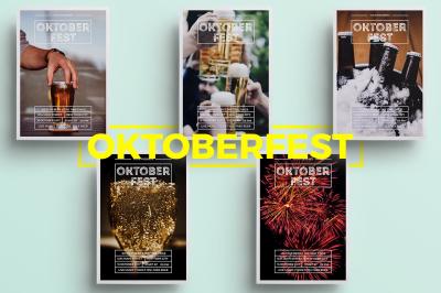 Minimalist Oktoberfest Flyer
