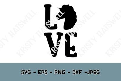Love Horses SVG