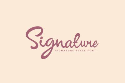 Signature - Script