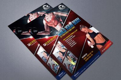Fitness Club Flyer IV