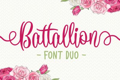 Battallion Font Duo