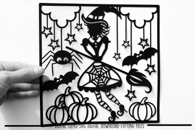 Halloween Witch SVG / DXF / EPS files