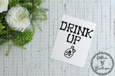 Drink Up Halloween