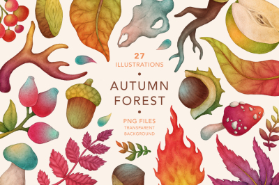 Autumn Forest, Fall Collection