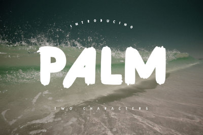 Palm Brush Font