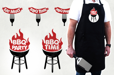 BBQ Logos Collection