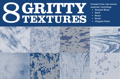 8 Gritty Textures