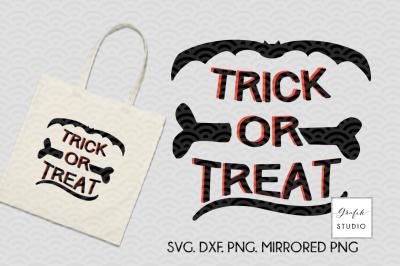 TRICK OR TREAT SVG, Halloween SVG, Fall SVG,