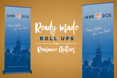 Roll Up Banner for Romance Authors 2