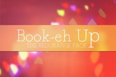 Book-eh-Up Red Orange Pack