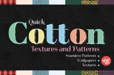 Cotton Textures and Seamless Patterns