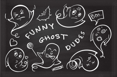 Funny ghost dudes