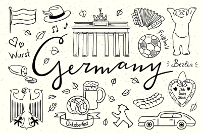 Germany Illustrations + Patterns