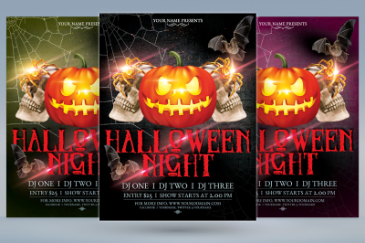 Halloween Night Flyer