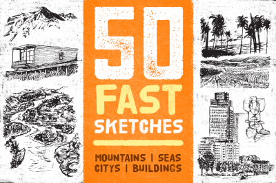 50 Fast Skethes