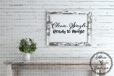 Clean Single Mingle