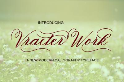 Vracter Work Font Duo
