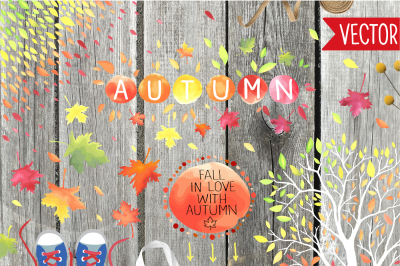 Autumn Love - Design Kit