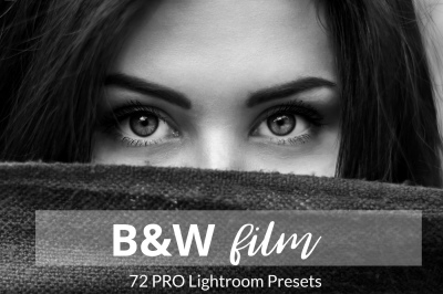 Black and White Film Lightroom Presets