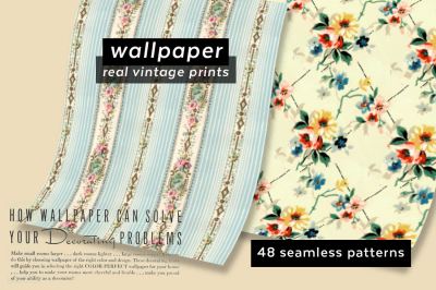 Vintage Wallpaper Pattern Collection