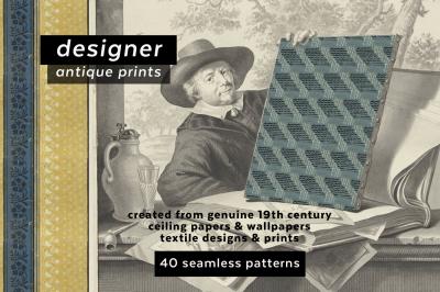 Designer Antique Print Collection