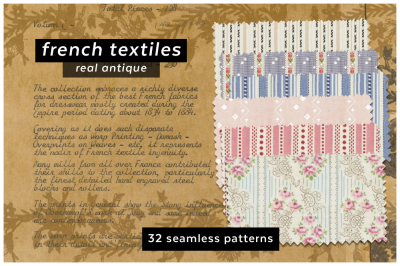 Antique French Textile Collection
