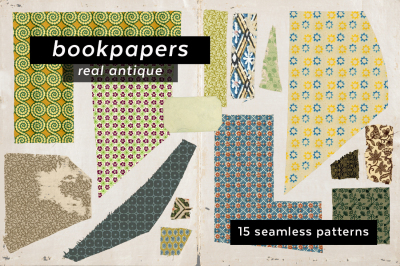 Antique Bookpaper Pattern Collection