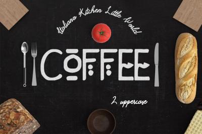 Coffee 2 Fonts