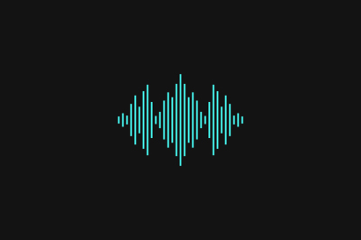Music Logo Design. Audio Concept
