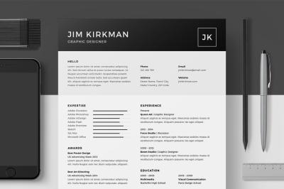 Resume/CV - Jim Kirkman