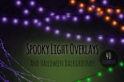 Halloween strings of lights